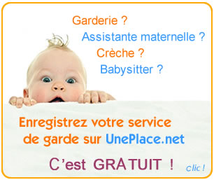 inscription creche garderie